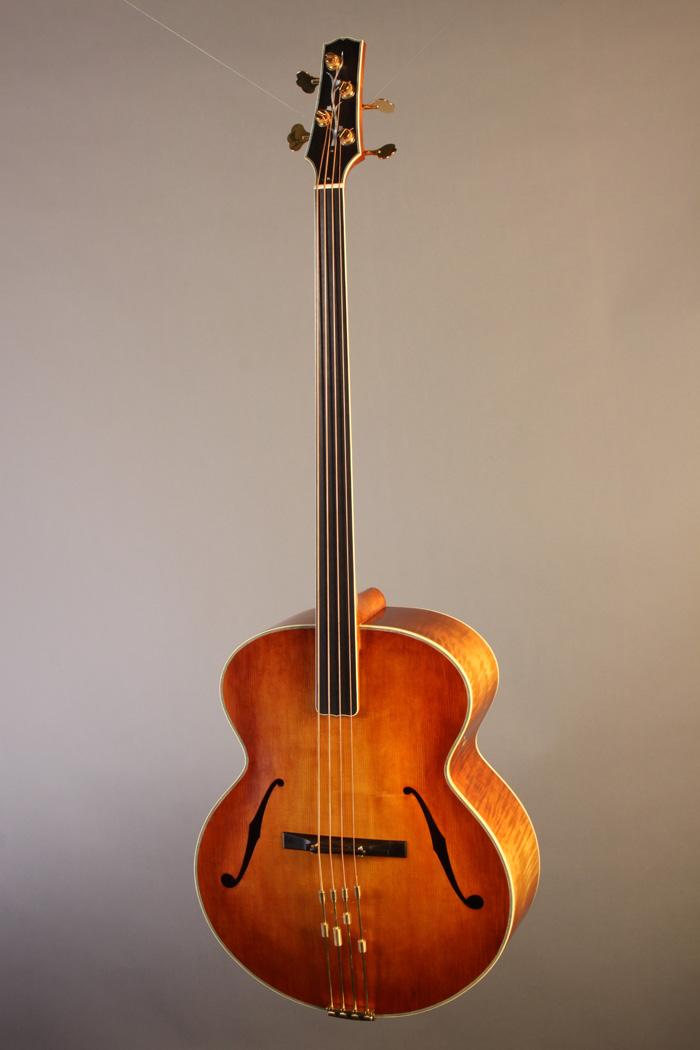 bm2904 alexandr svistunof fretless acoustic bass new. Black Bedroom Furniture Sets. Home Design Ideas