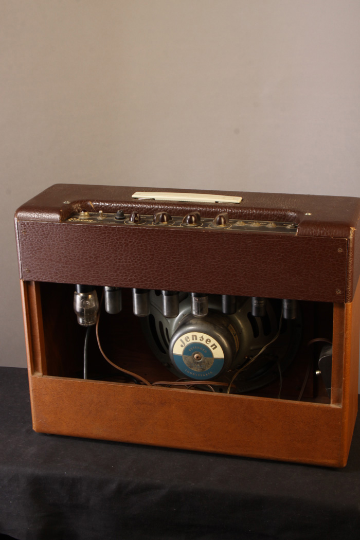 Eb6697 Gibson Les Paul And Ga 40 Amplifier 1953