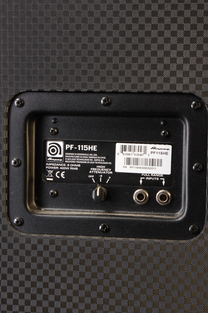 Pa2750 Ampeg Pf 115he Cabinet Recent